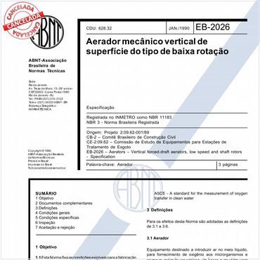 NBR11183 de 01/1990