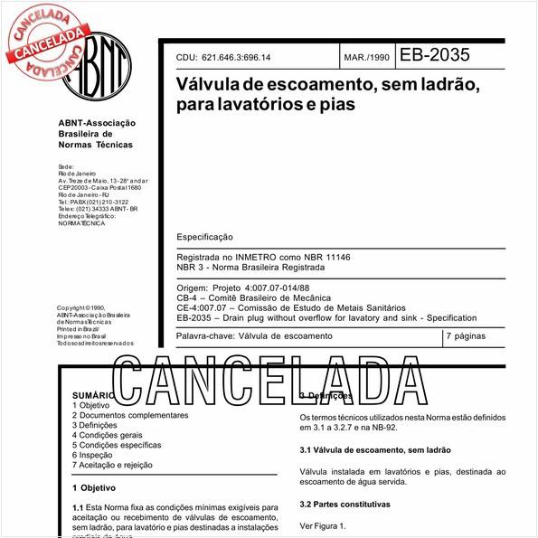 NBR11146 de 10/2006