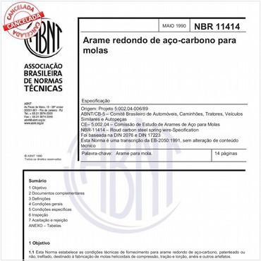 NBR11414 de 05/1990