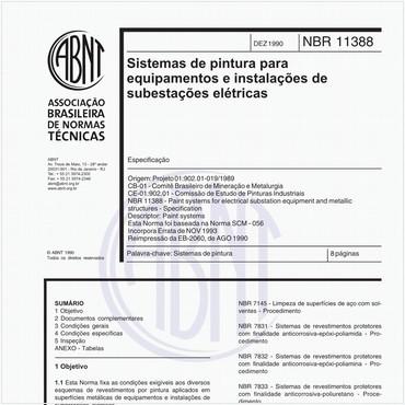 NBR11388 de 12/1990