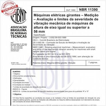 NBR11390 de 10/1990