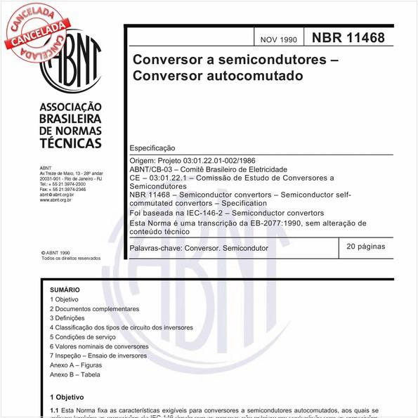 NBR11468 de 10/2012