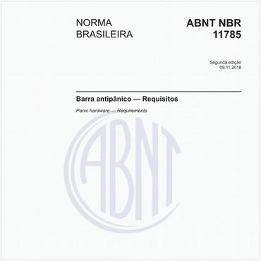 NBR11785 de 11/2018