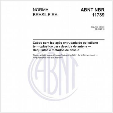 NBR11789 de 06/2016
