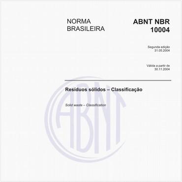 NBR10004 de 05/2004
