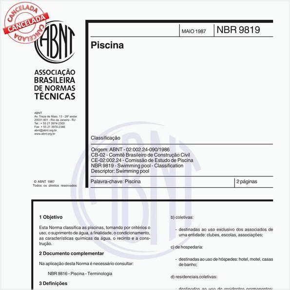 NBR9819 de 09/2018