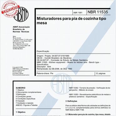 NBR11535 de 04/1991