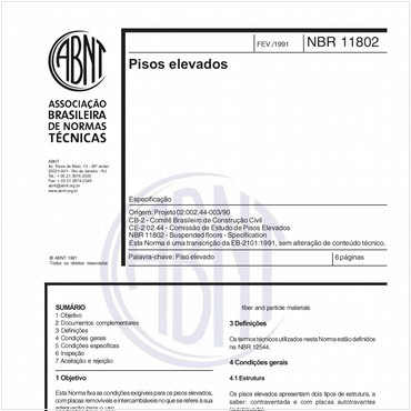 NBR11802 de 02/1991