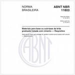 NBR11803