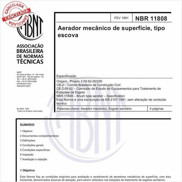 NBR11808 de 10/2017