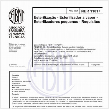 NBR11817 de 08/2001