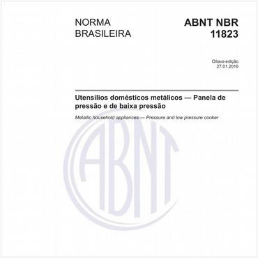 NBR11823 de 01/2016