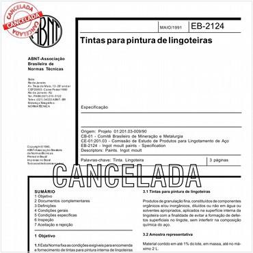 NBR11825 de 05/1991
