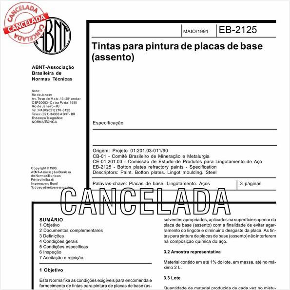 NBR11826 de 05/2011