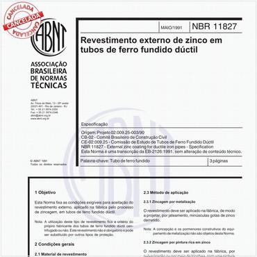 NBR11827 de 05/1991