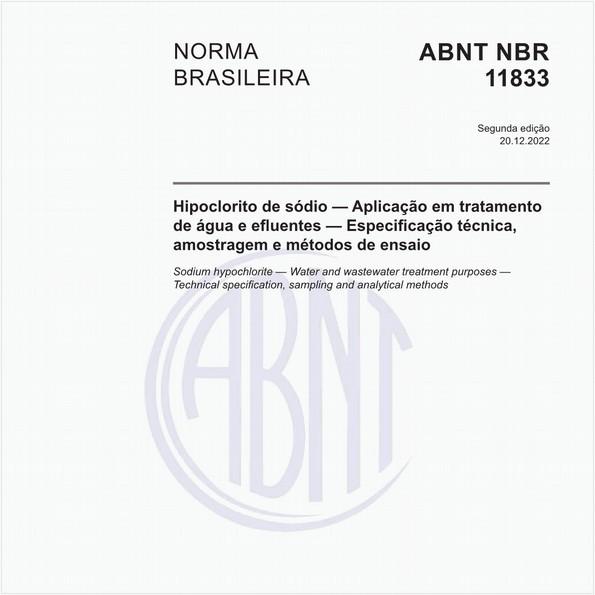 Hipoclorito de sódio - Especificação