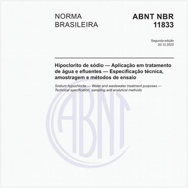NBR11833 de 08/1991