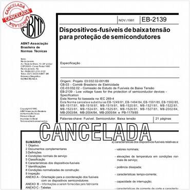NBR11839 de 11/1991