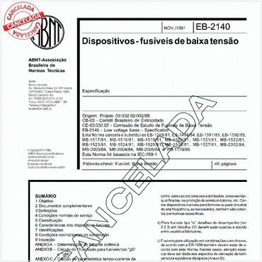 NBR11840 de 11/1991