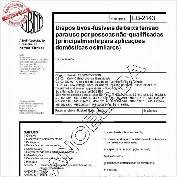 NBR11843 de 11/2003