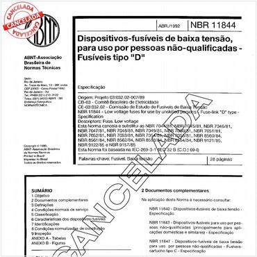 NBR11844 de 04/1992