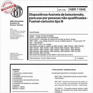 NBR11846 de 04/1992