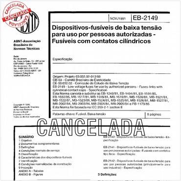 NBR11849 de 11/1991