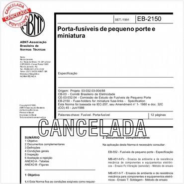 NBR11850 de 09/1991