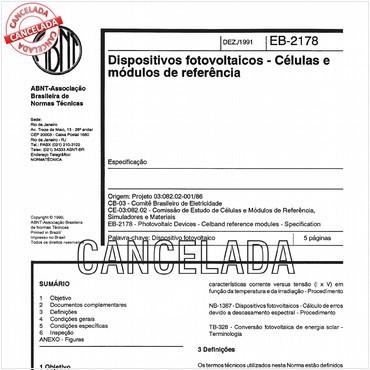 NBR11878 de 12/1991
