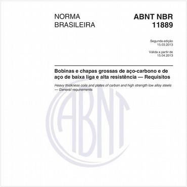 NBR11889 de 03/2013