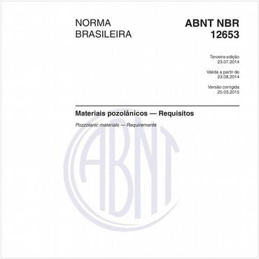 NBR12653 de 07/2014