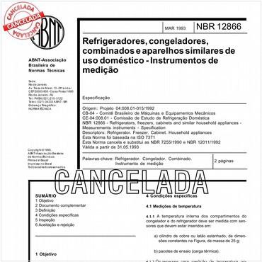 NBR12866 de 03/1993
