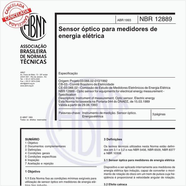 Sensor óptico para medidores de energia elétrica