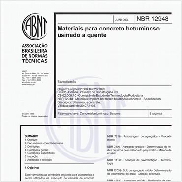 NBR12948 de 06/1993