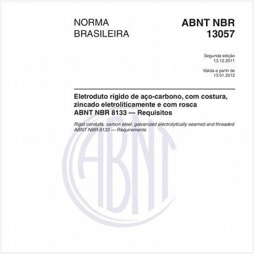 NBR13057 de 12/2011