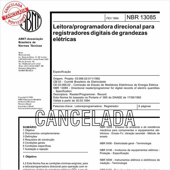 Leitora/programadora direcional para registradores digitais de grandezas elétricas