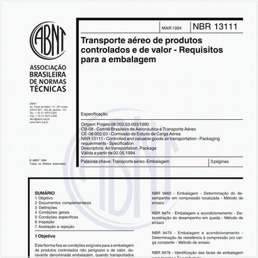 NBR13111 de 03/1994