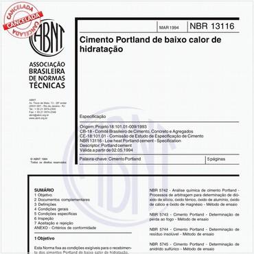 NBR13116 de 03/1994