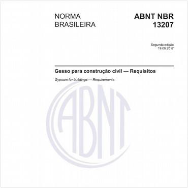 NBR13207 de 06/2017