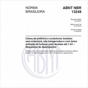 NBR13248 de 09/2014