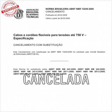 NBR13249 de 11/2000
