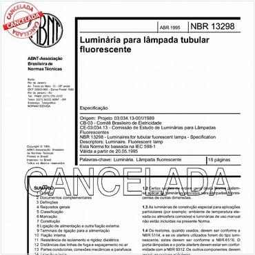 NBR13298 de 04/1995
