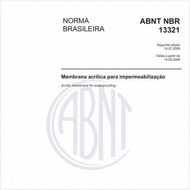 NBR13321 de 07/2008