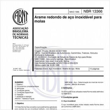 NBR13366 de 05/1995