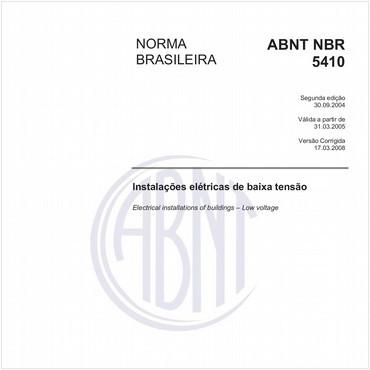 NBR5410 - COMENTADA de 09/2004