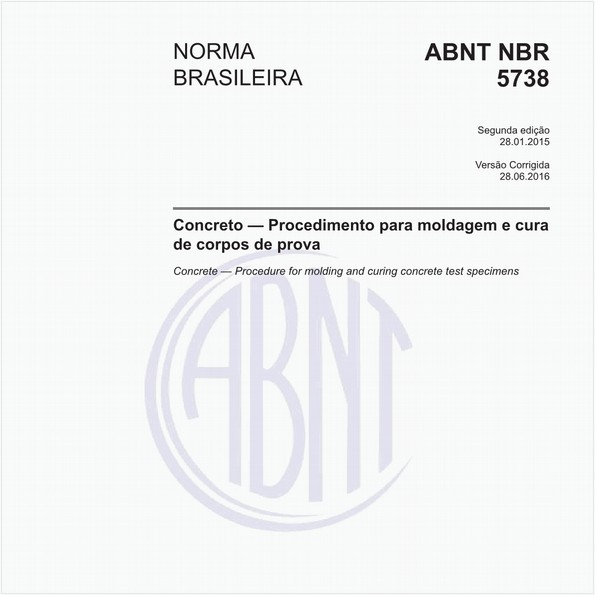 Concreto - Procedimento para moldagem e cura de corpos de prova