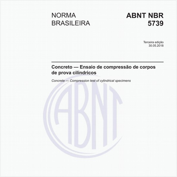 Concreto - Ensaio de compressão de corpos de prova cilíndricos