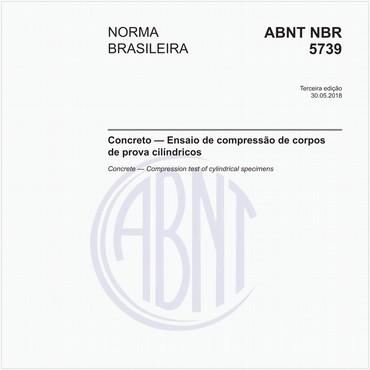 NBR5739 de 05/2018