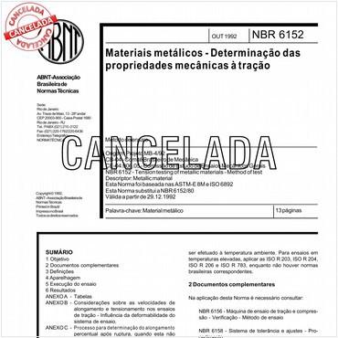 NBR6152 de 10/1992