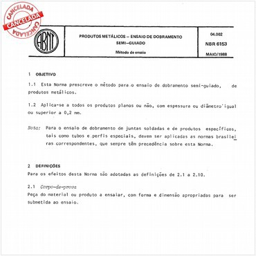 NBR6153 de 04/2015